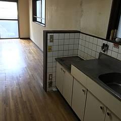 キッチンの片付けのイメージ